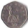 A 50p coin, yesterday