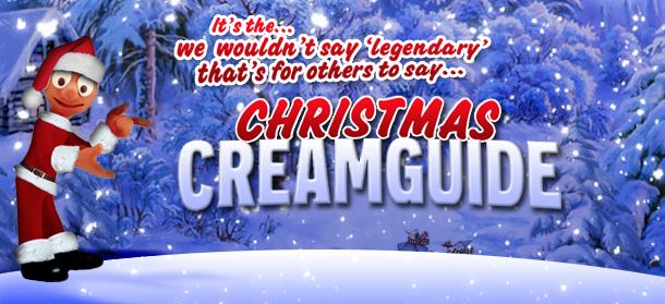Merry Christmas Creamguide!