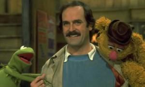 """Mr Cleese, five minutes! Five minutes Mr Cleese!"""