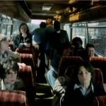 The classic coach chaos scene