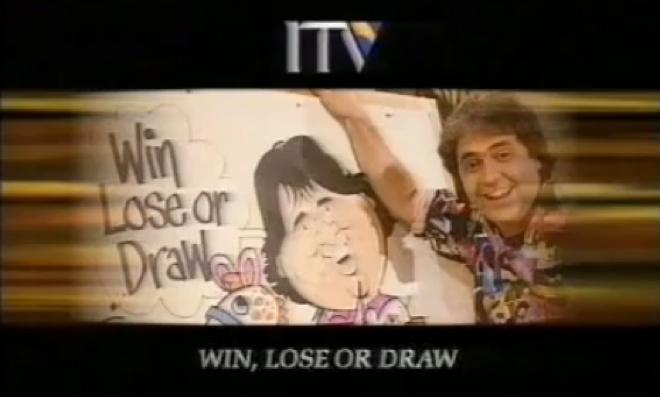 Win Lose Or Draw Tv Cream