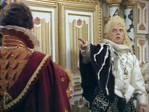 """Lord Flashheart, Lord Flashheart, we wish he were the star..."""