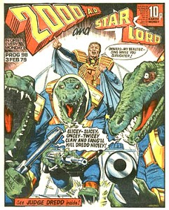 2000 ad and Starlord play nice, post merger.