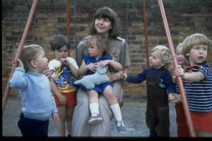 Pam Ayres and pals