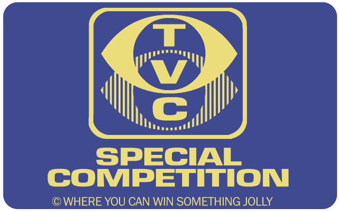 Nah-nah-ner! [Boom ba BOOM!] Win a thing... WITH TV CREAM!