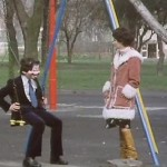 Teenage drama tips: Feeling desolate? Sit moodily on a swing.