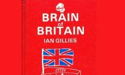 The best-selling Brain Of Britain quiz book, by 'Gillies'