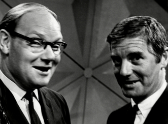 24 Hours' party people: Cliff Michelmore and Kenneth Allsop