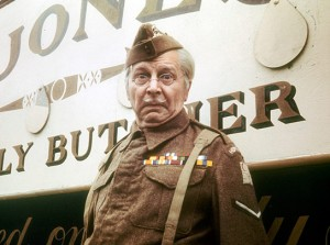 Emergency, reassuring Dad's Army picture