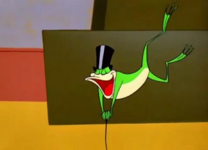 Michigan J Frog in action