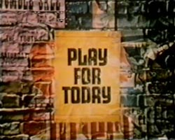 Play for Today, 1970: Frankly terrifying self-pasting poster animation. Didn't last long.