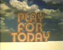 Play for Today, 1977: A bizarre model shot with a time-lapse sunrise in the background. Soundtrack now a breezy brass version of the boogie-woogie tune.