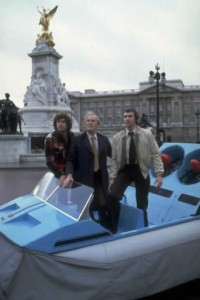 Gordon requisitions the Whomobile for an emergency trip to Buck House