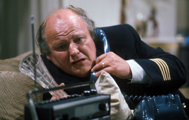 A discomfited Roy Kinnear, yesterday