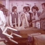 It was stools before 1976, trowels after, right?