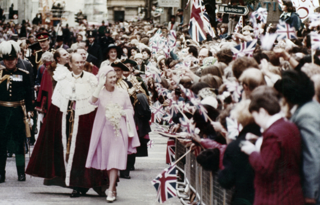 The Queen, yesterday - or indeed any day from the last 60 years